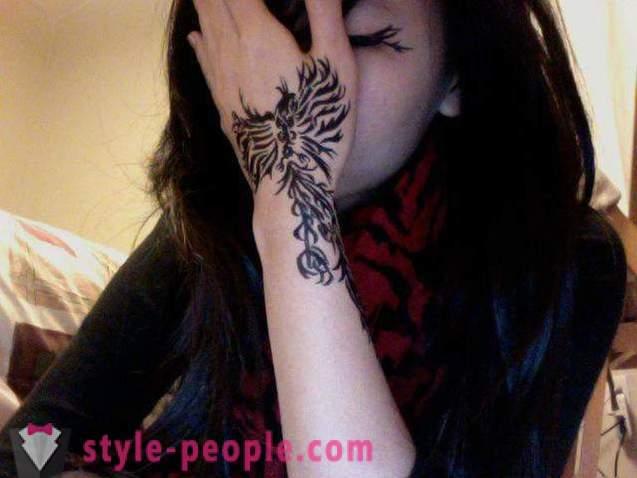 Phoenix Tattoo Skice I Opcije