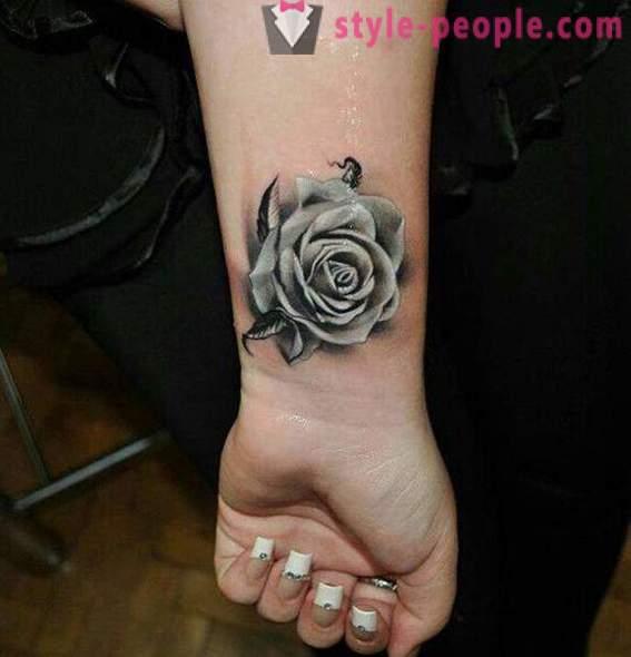 Značenje Tetovaža Ruža Kratka Povijest I Opis